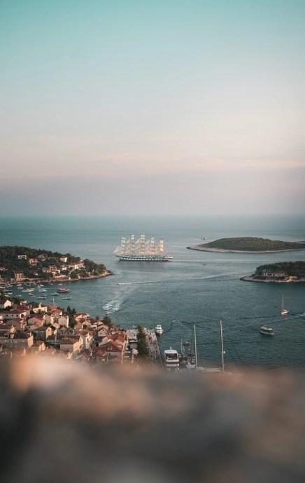 Hvar harbor - Top islands in Croatia