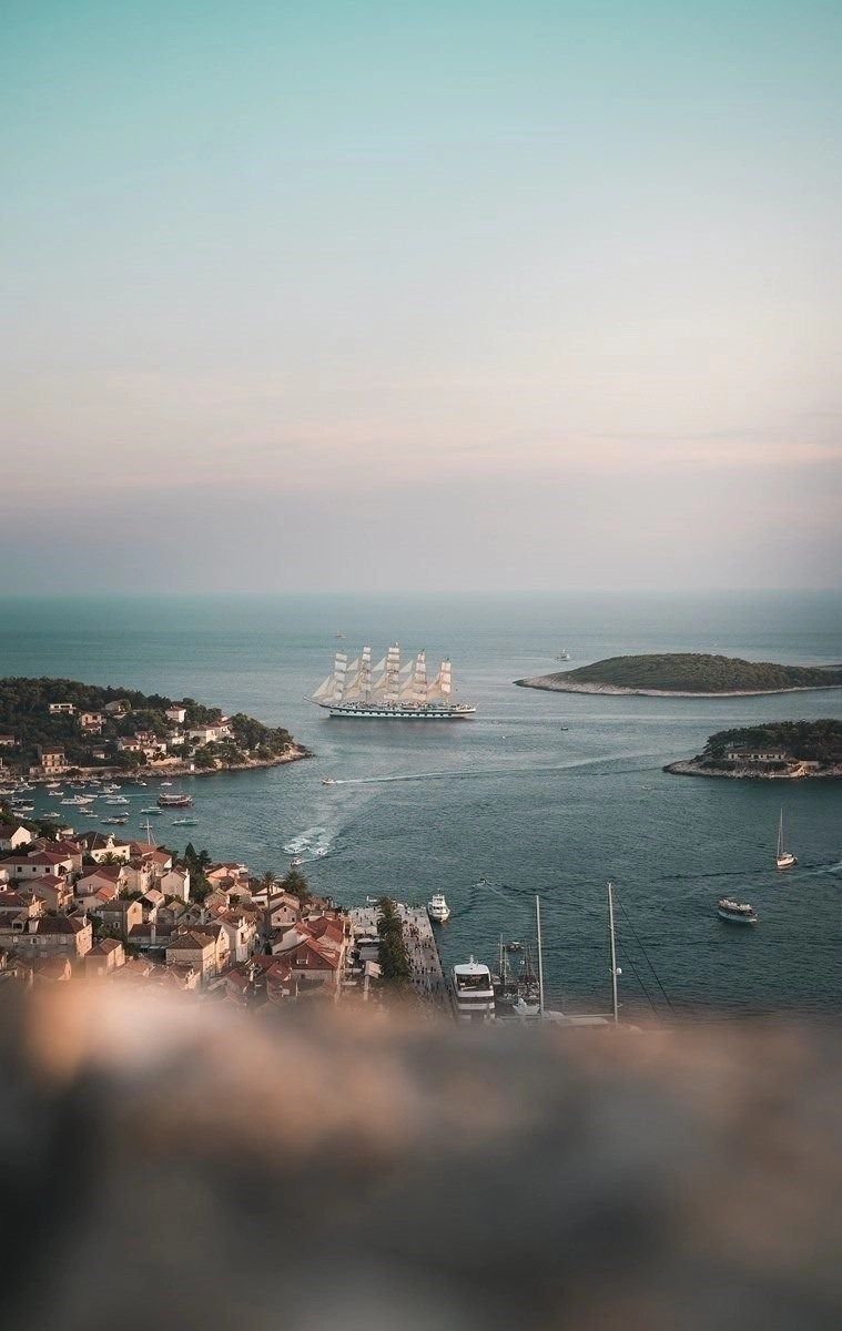 Hvar harbor - Top islands in Croatia