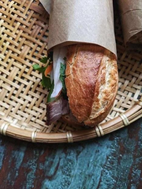 banh mi sandwich - A staple in Vietnamese cuisine