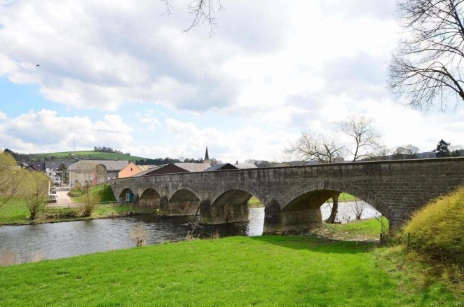 Escapardenne Lee Trail stone bridge - Beginners guide to hiking in Luxembourg