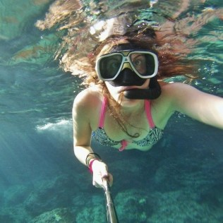 Yachting and being by the sea all the time allows you to jump in the water and snorkel in a whim