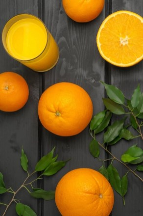 Orange juice ingredients - Alcohol-free holidays