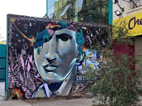 13 Santiago Street Art - Must-see highlights in Santiago Chile
