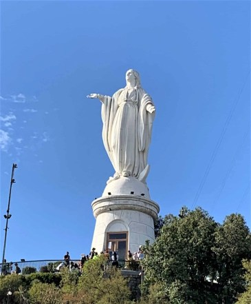 5 San Cristobal Statue of Mary