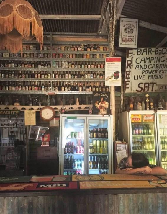 An Outback pub