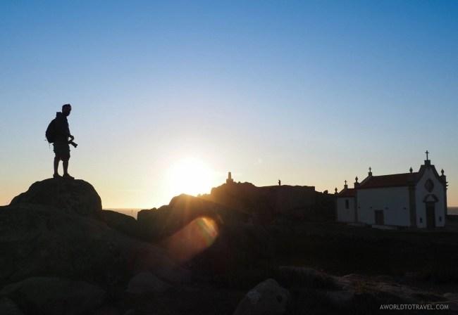Capela da Boa Nova at sunset