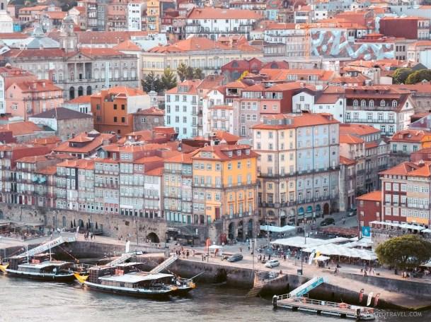 Ribeira neighborhood in Porto