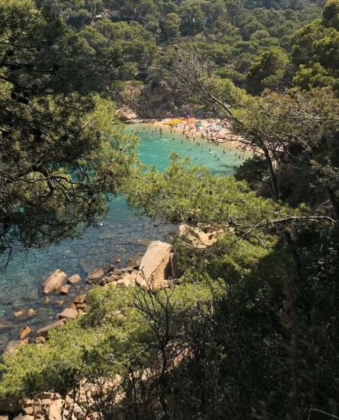 Platja d'Aiguablava, Begur - Costa Brava for nature and adventure lovers