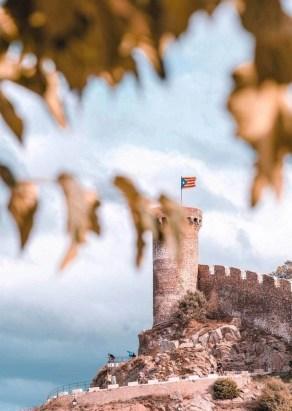 Tossa de Mar castle tower