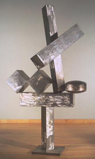 David Smith Cubi XIX, 1964 Stainless Steel, Tate