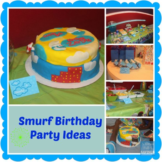 The Smurfs Birthday Party Ideas In 2019 Kiddie Parties Birthday