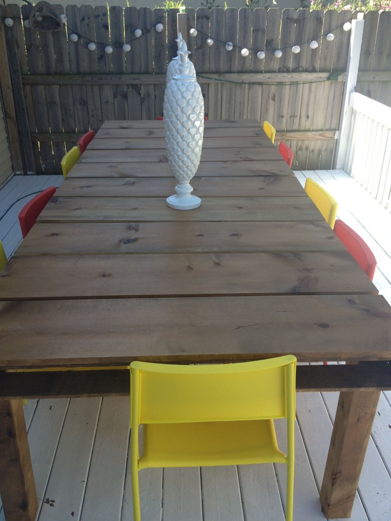 Outdoor Dining Table With Red Chairs Part 82