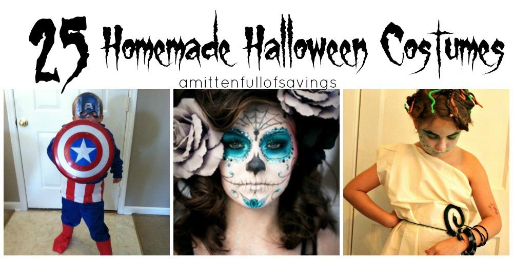 Halloween Costume Ideas: Homemade Halloween Costumes