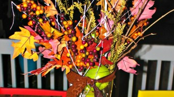 Fall Decor- Fall Centerpiece