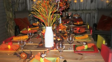 Fall Table Decor Idea