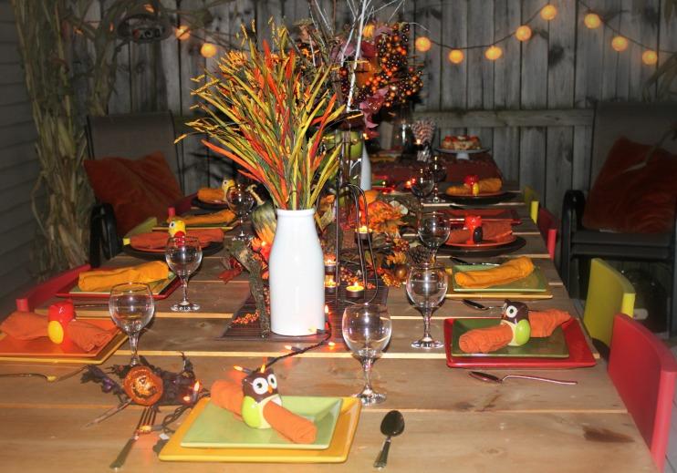fall table decor 2