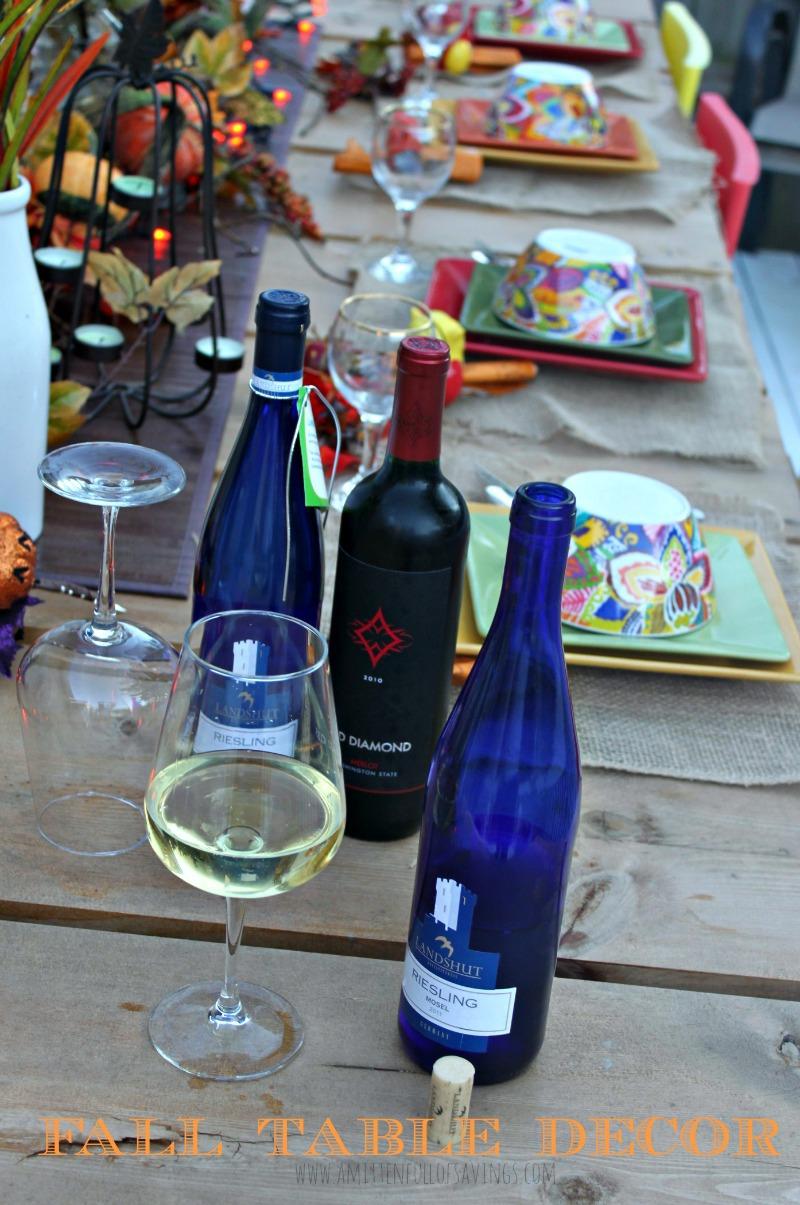 fall table decor idea 2