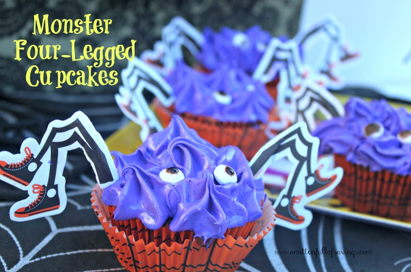 Monster Four Legged Cupcakes