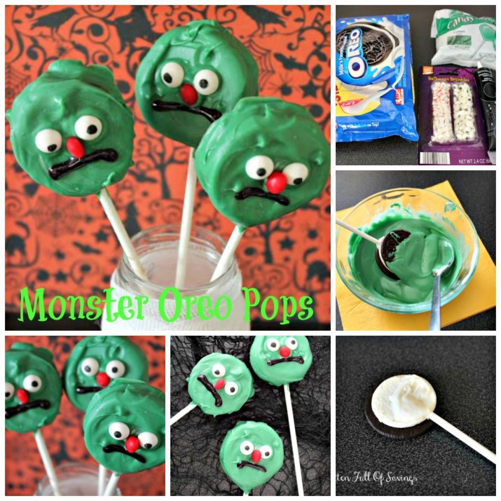 monster oreo pops Collage