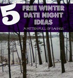 Free Winter Date Night Ideas