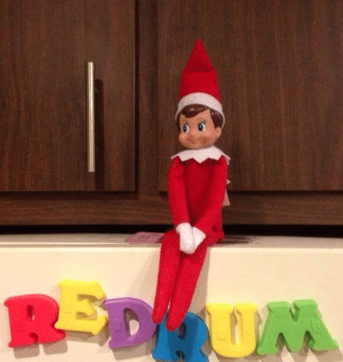 Elf on the Shelf The Shining