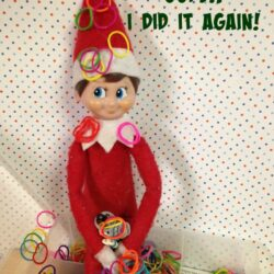 Elf on The Shelf Ideas: Oops I Did It Again