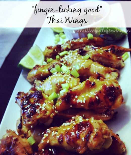 thai wings recipe