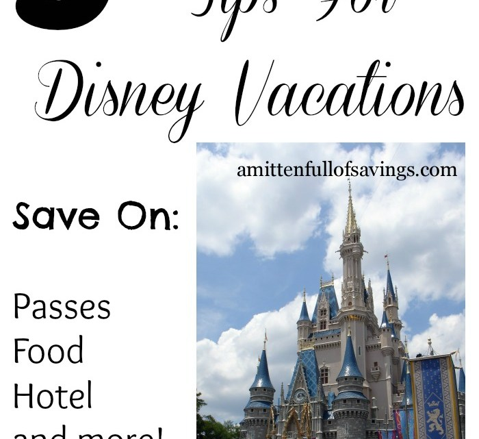 5 Money Saving Tips for Disney