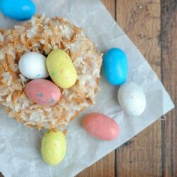 This easy Easter treat is kid-friendly and fun to make for the family. Baked Donut Nests are a popular Easter dessert, so give it a try this year!