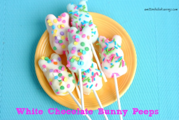 White Chocolate Bunny Peeps