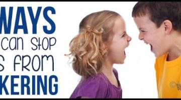 siblings, parenting tips
