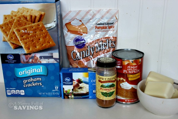 ingredients for Easy Recipe for Pumpkin Cream Cheese Truffles