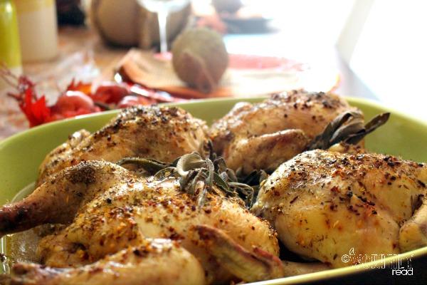 alternative turkey recipe cornish hen recipe