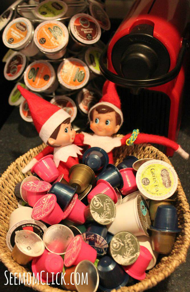 Elf on the Shelf coffee ideas