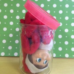 Elf on the Shelf Idea- Escape Artist Elf