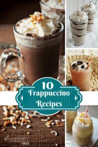 10 Frappuccino Recipes