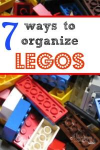 7 Ways to Organize Legos