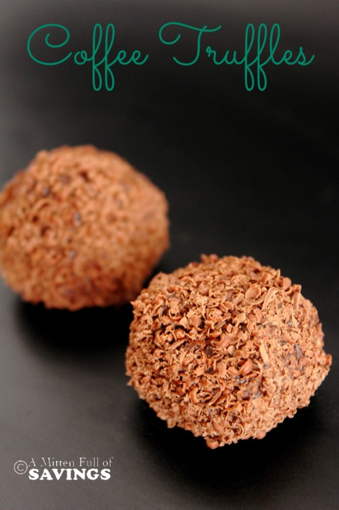 Here's an easy recipe on How to Make Chocolate Truffles Balls {using Coffee}