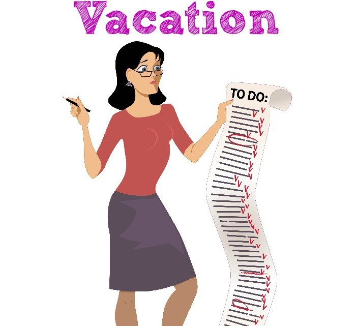 Must Do Things Moms Do Before Going On Vacation