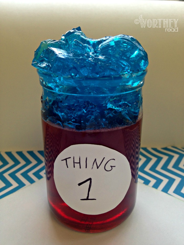 Thing 1 Snack Dr Seuss Theme