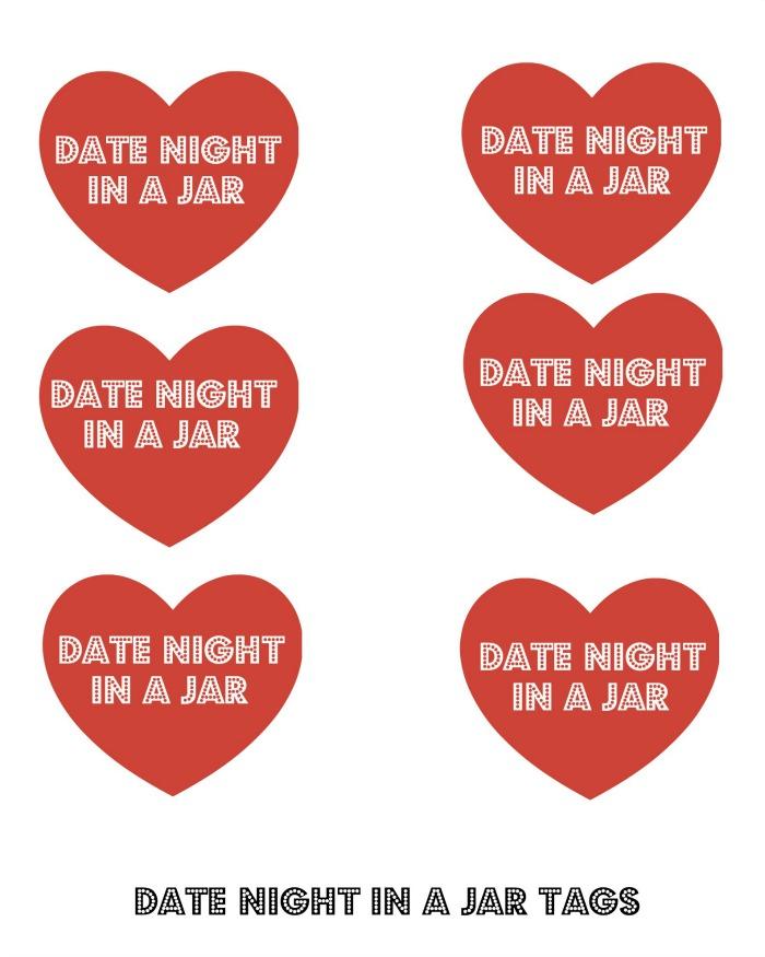 Date Night Tags