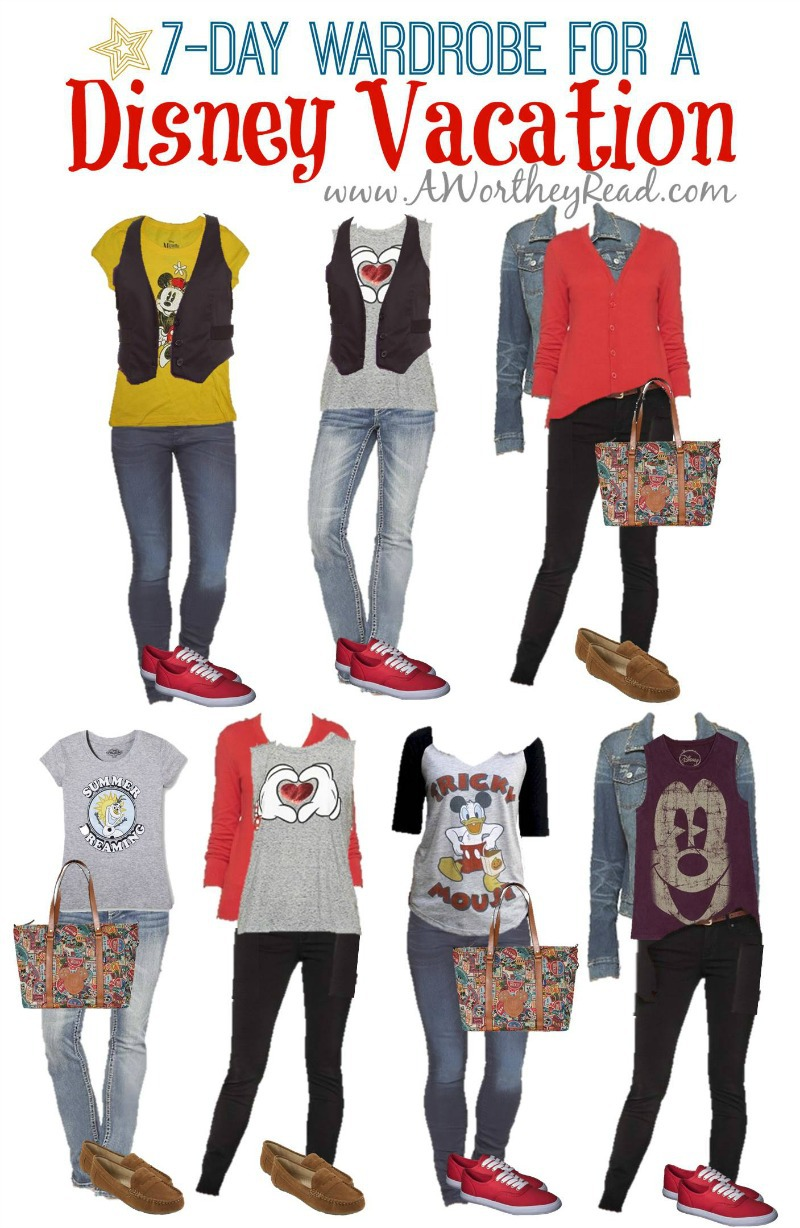 Going To Disney Soon Heres The Perfect Wardrobe Thats Easy And Casual 7 Days