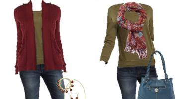 Take your winter clothes and use them for spring. This is a great way to save money too! Winter To Spring Wardrobe Ideas