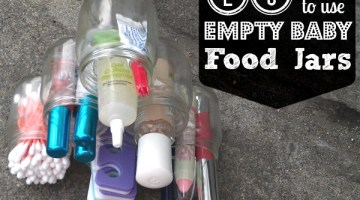 25 Ways To Use Empty Baby jars