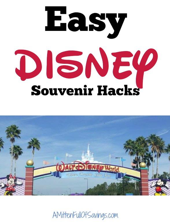 Easy Disney Souvenir Hacks