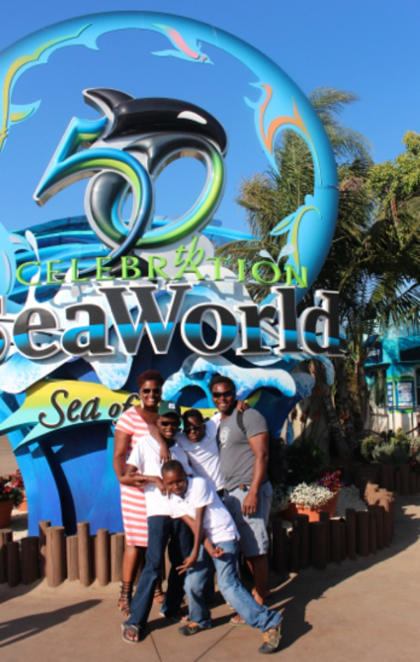 Worthey Family at Sea World