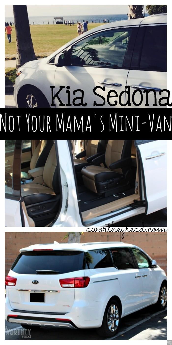 "If you're tired of the same old van, then the Kia Sedona will make you rethink what you think about ""mini-van moms"" - Kia Sedona Not Your Mama's Mini-Van FB"