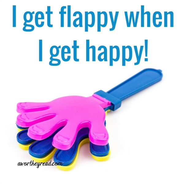 I get flappy when I get happy