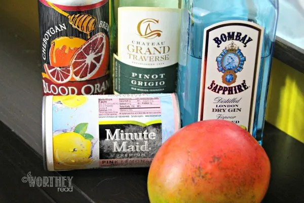 Ingredients for Beertini Drink