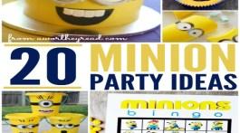 20 Minion Party Ideas